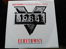 SINGLE EURYTHMICS - SEXCRIME (NINETEEN EIGHTY FOUR) - VIRGIN UK 1984 VG+