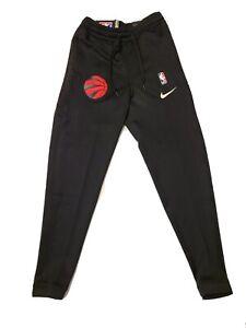 Nike NBA Toronto Raptors Game Issued Therma Flex Pants Size Small (AA5260-010)