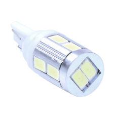 T10 194 168 W5W LAMP BULB 10 SMD LEDs 12-24V WHITE For CAR FP