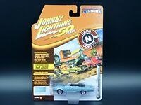 JOHNNY LIGHTNING 1967 PLYMOUTH GTX CONVERTIBLE CARS N COFFEE VS B REL 2 1:64
