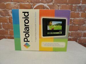 Polaroid Simplicity 7 Inch Digital Photo Frame PLUS Weather Station New