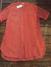 Ausgefallenes Blusen   Kleid -Neuer Orange Ton-Gr.48-52 neue Frühlings- Mode