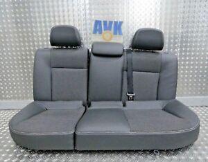Sitze hinten Rücksitze Stoff anthrazit Astra H L35 Caravan Kombi 2008 >