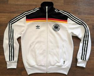 adidas Jacke Trainingsjacke Deutschland Gr. XL DFB Fussball WM tracktop vintage
