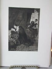 Vintage Print,LOUIS 11+OLIVIER LE DAIN,Great Men+Famous Women,1894