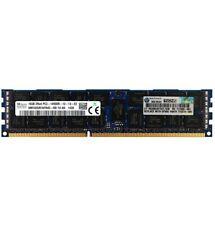 HP Genuino 16GB 2Rx4 PC3-14900R DDR3 1866MHz 1.5V Memoria Ram error-correcting código Reg RDIMM 1x16G