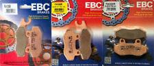 EBC R Series F/R Brake Pad Set - Yamaha YFZ450 2006-2009, 2012-2014, YFZ450R