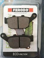 Plaquettes de frein arrière FERODO Kawasaki KLE 650 versys 2015 2018 FDB531EF