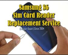 Samsung S6 G920 Sim Card Card Reader Replacement Service - Free Return Shipping