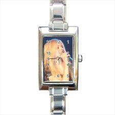 Avril Lavigne Rectangular Italian Charm Watch