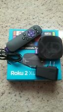 Roku 2 XD Black Media Streaming Box Model 3050X Complete with Original Package