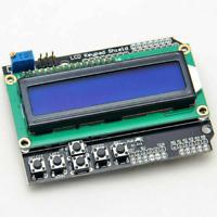 1602 LCD Display Keypad Modul Taster Button Shield für Arduino Zubehör