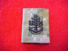 US Navy Type III Type 3 Green Digital  E-7 rank tab for blouse & parka