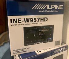 New in box Alpine INE-W957HD 6.95 inch Car DVD Player