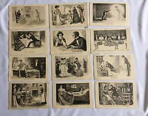 Vintage Victorian Postcards Pictorial Comedy James Henderson & Sons