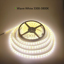 DC 24V 32.8ft 5050 SMD LED Flexible Strip Light Warm White 10M 600 LEDs WP Rope