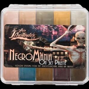 Necromania OnSet Special FX Makeup Palette Skin Illustrator Alcohol Activated