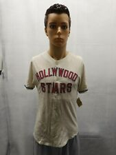NWT Hollywood Stars Baseball Jersey Red Jacket Mens S MiLB