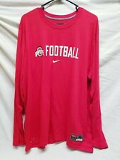 Nike Ohio State Buckeyes Football Dri Fit Shirt size XL