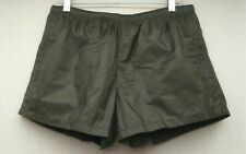 Prada Men's Olive Green Swim Shorts Suit Size 50 IT / 34 US