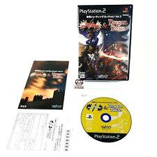 Sol Divide & Dragon Blaze Sony Playstation 2 System Japan Very Good