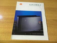 brochure JBL Control 5
