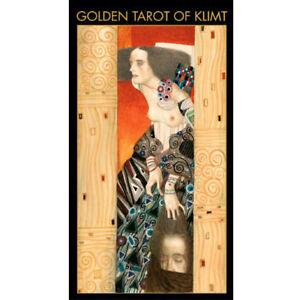 Golden Tarot of Klimt NEW IN BOX Lo Scarabeo Gilded Edition Gustav Klimt Gold