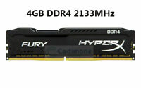 For Kingston HyperX FURY 4GB 8GB 16GB 2133MHz DDR4 PC4-17000 Black Desktop RAM