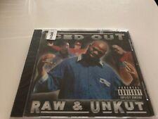 CD: ICED OUT - Raw & Unkut (2001 4Gold Rec.)Sealed Richmond Cali Rap G-Funk