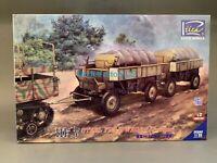 Riich Models RV35041 1/35 HF.7 Steel Field Wagon(Trailer)