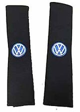 VW embroidered seat belt pads