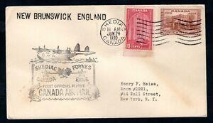 Canada - 1939 First Flight Airmail Cover Shediac to Dublin Foynes, Ireland