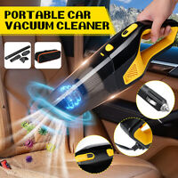 12V 120W Portable Car Auto Handheld Vacuum Cleaner Duster Dirt Wet & Dry