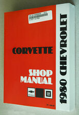 1980 CORVETTE SHOP SERVICE REPAIR MANUAL ENGINE DRIVE TRAIN MECHANICAL&MORE NEW