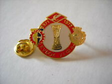 d VITORIA SETUBAL SPARTAK MOSCOW KOSICE cup uefa europa league 1972 football pin