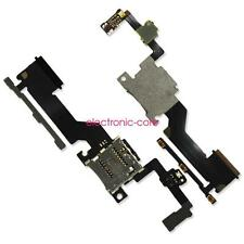 For HTC One M9+ Plus Power Volume Button Memory SD Card Tray Holder Flex Cable