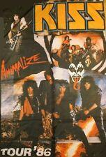 KISS - Animalize Tour - Flagge Posterfahne Textilposter Flag #920194