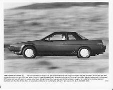 1986 Subaru XT Coupe GL Press Photo 0016