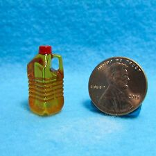 Dollhouse Miniature Detailed Replica Antiseptic Blue Mouth Wash Bottle HR52136