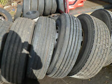 295 80r 22.5 steer wheels and tyres used