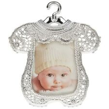 Baby Lace Romper Frame Shower Christening First Born Baptism Nursery 50733
