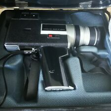 Canon Auto Zoom 518 Sv Super8 Vintage Camcorder Video Recorder In Case