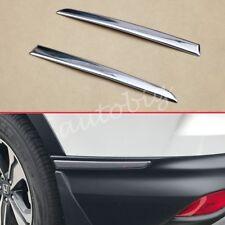 For Honda CRV 2017 2018 Steel Rear Bumper Corner Side Strips Molding Accessories