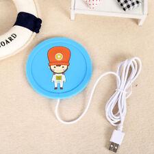 USB Coffee Mug Warmer Tea Milk Cup Heater Pad Heating Plate for Office Home