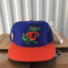 Vintage Florida Gators American Needle Blockhead Snapback Hat 90s Deadstock