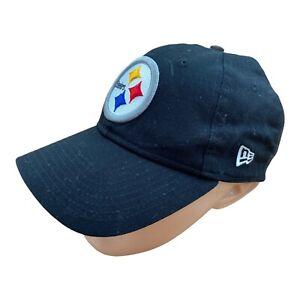 New Era Embroidered Baseball Cap Hat Pittsburgh Steelers 9TWENTY Adjustable