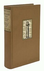 Canterbury Tales De Luxe Edition with Illustrations by Rockwell Kent