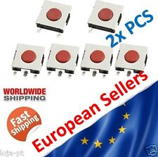 2x SMD Switch 6x6x2.5mm PCB Momentary Tact Push Button Switch 4 Pin SMD  - V4