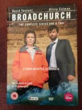 BROADCHURCH   The Complete Series One & Two  ( DVD Box Set )
