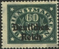 Deutsches Reich D41 postfrisch 1920 Bayern/Aufdruck
